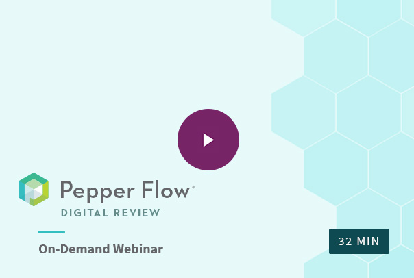 pepper flow digital review webinar